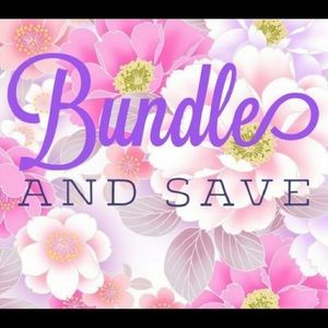 Bundle and save😊